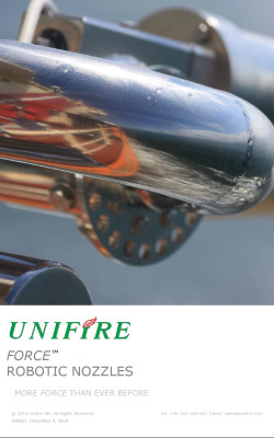 Unifire Force Robotic Nozzle Catalog Cover