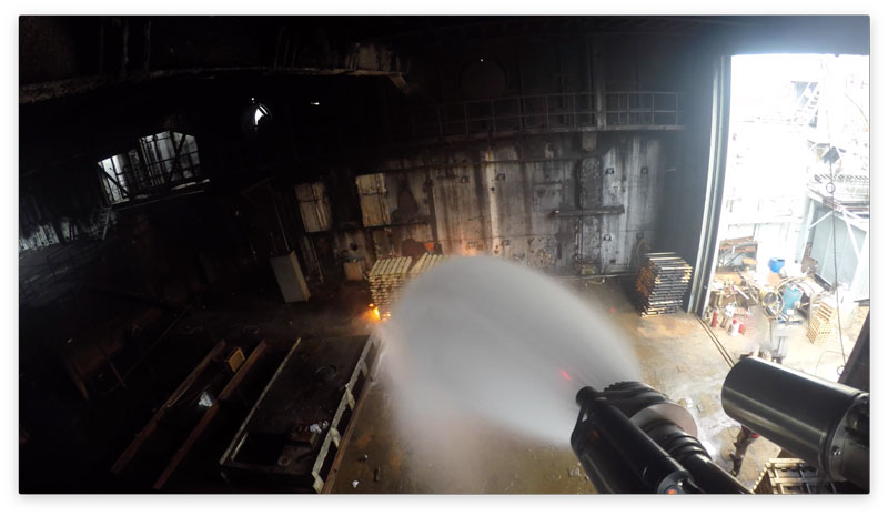 Swedish Fully Automatic Fire Extinguishing System Successfully Tested