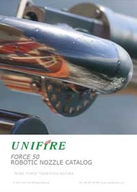 2015 FORCE 50 Robotic Nozzle Catalog by Unifire AB