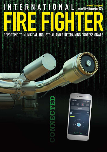 International Fire Fighter Features Unifire's FlameRanger XT