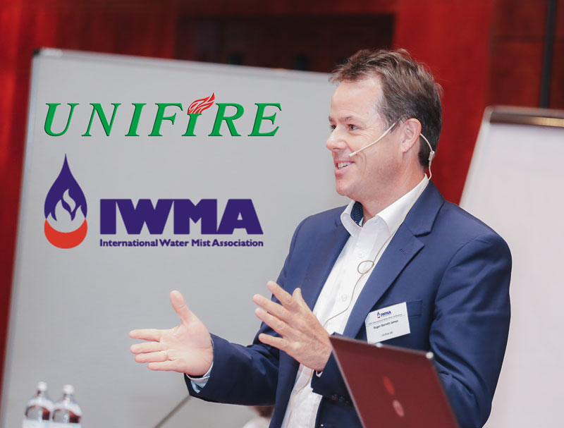 Unifire FlameRanger Wows Int'l Water Mist Conference in Vienna